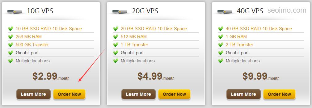 搬瓦工256MB小内存vps