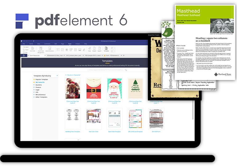 PDF格式模板
