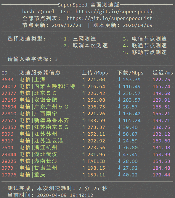 服务器/VPS一键shell脚本大全-1